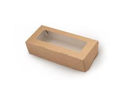 Контейнер картонный с окном 170\70\40, 500мл (Tabox 500)