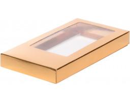 Коробка для шоколадной плитки Золото