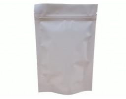 Пакет дой пак металлизированный розовый матовый с замком зип-лок 135х200