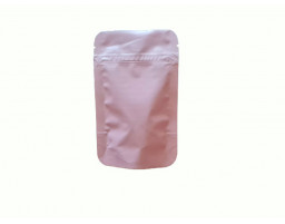 Пакет дой пак металлизированный розовый матовый с замком зип-лок 80х120