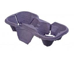 Держатель для 2-х стаканов фиолетовый