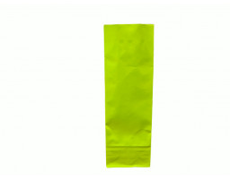 Пакет ламинированный с прямоугольным дном 55/30/170 (лайм)