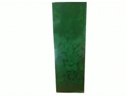 Пакет ламинированный с прямоугольным дном 55/30/170 (зеленый новый год)