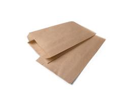 Пакет (41/1) бумажный (крафт) плоское дно  140/60/250