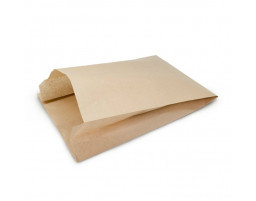 Пакет (500) бумажный (крафт) плоское дно 250/82/390