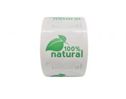 "Наклейка ""100% Natural"""