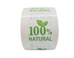 "Наклейка ""Natural100% """