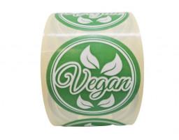 """Наклейка """"Vegan"""""""
