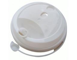 Крышка для стакана с питейником (80мм) Белая